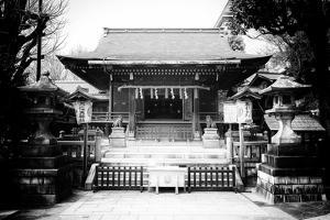 Black Japan Collection - Tokyo Temple by Philippe Hugonnard
