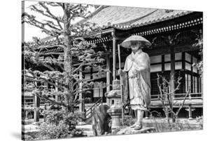 Black Japan Collection - Traditional Japanese Temple by Philippe Hugonnard
