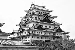Black Japan Collection - White Temple by Philippe Hugonnard