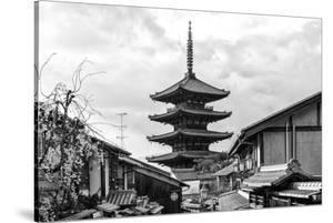 Black Japan Collection - Yasaka Pagoda by Philippe Hugonnard