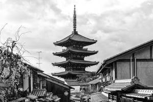 Black Japan Collection - Yasaka Pagoda by Philippe Hugonnard