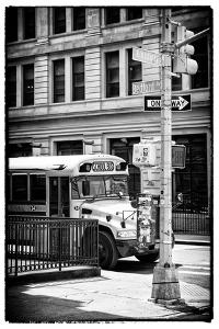 Black Manhattan Collection - School Bus by Philippe Hugonnard