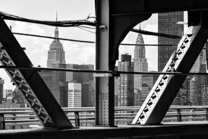 Black Manhattan Collection - Skyscrapers by Philippe Hugonnard