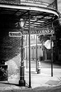 Black NOLA Series - French Quarter Rue de Chartres by Philippe Hugonnard