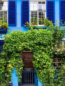 Blue House in Notting Hill - London - UK - England - United Kingdom - Europe by Philippe Hugonnard