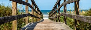 Boardwalk on the Beach - Florida - United States by Philippe Hugonnard