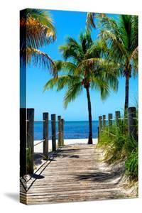 Boardwalk on the Beach - Key West - Florida by Philippe Hugonnard