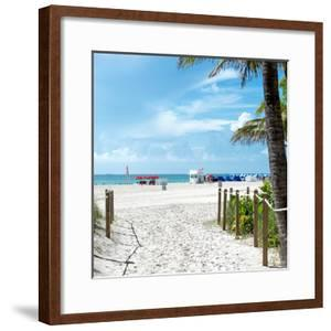 Boardwalk on the Beach - Miami Beach - Florida by Philippe Hugonnard