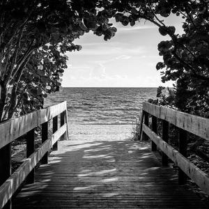 Boardwalk on the Beach by Philippe Hugonnard