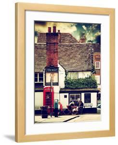 Boot Alley Sign - St Albans - The Boot Inn - London - UK - England - United Kingdom - Europe by Philippe Hugonnard