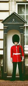 Buckingham Palace Guard - London - UK - England - United Kingdom - Europe - Door Poster by Philippe Hugonnard