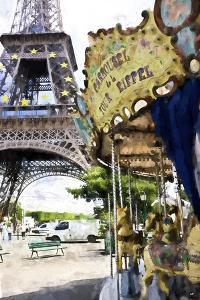 Carrousel de la Tour Eiffel by Philippe Hugonnard