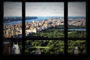Central Park View from the Window by Philippe Hugonnard