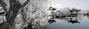 China 10MKm2 Collection - Another Look - Reflection of Temples by Philippe Hugonnard