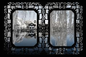 China 10MKm2 Collection - Asian Window - Another Look Series - White Reflections by Philippe Hugonnard