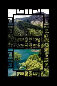 China 10MKm2 Collection - Asian Window - Beautiful Lake in the Jiuzhaigou National Park by Philippe Hugonnard