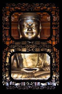 China 10MKm2 Collection - Asian Window - Buddha by Philippe Hugonnard