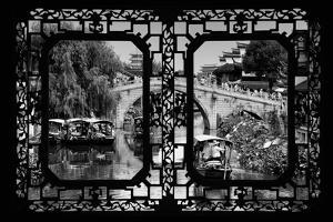 China 10MKm2 Collection - Asian Window - Shanghai Water Town - Qibao by Philippe Hugonnard