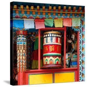 China 10MKm2 Collection - Buddhist Prayer Wheel by Philippe Hugonnard