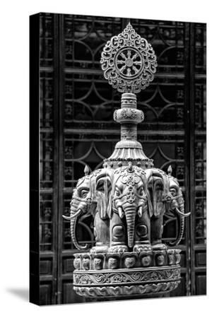 China 10MKm2 Collection - Buddhist Temple - Elephant Statue