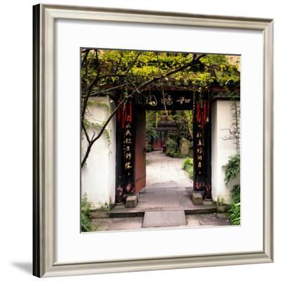 China 10MKm2 Collection - Chinese Traditional Door entry