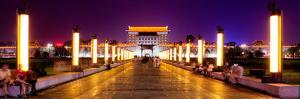 China 10MKm2 Collection - City Lights - Xi'an City by Philippe Hugonnard