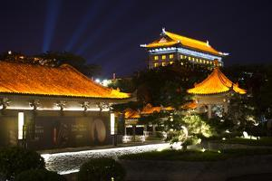 China 10MKm2 Collection - City Night Xi'an by Philippe Hugonnard