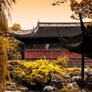 China 10MKm2 Collection - Classical Chinese Pavilion in Autumn by Philippe Hugonnard