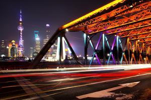 China 10MKm2 Collection - Colorful Garden Bridge - Shanghai by Philippe Hugonnard