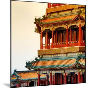 China 10MKm2 Collection - Detail of Summer Palace at sunset by Philippe Hugonnard