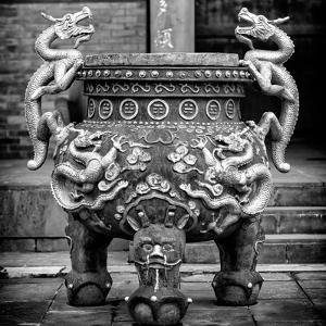 China 10MKm2 Collection - Dragon Incense by Philippe Hugonnard