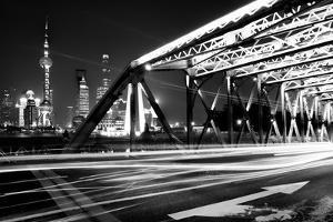 China 10MKm2 Collection - Garden Bridge at night - Shanghai by Philippe Hugonnard
