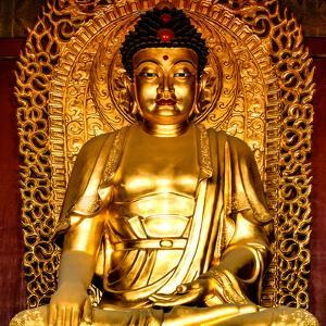 China 10MKm2 Collection - Gold Buddha by Philippe Hugonnard