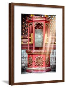 China 10MKm2 Collection - Instants Of Series - Prayer Wheel by Philippe Hugonnard