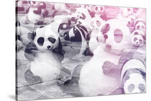 China 10MKm2 Collection - Instants Of Series - Psychedelic Pandas by Philippe Hugonnard