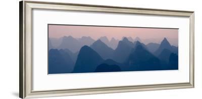 China 10MKm2 Collection - Karst Mountains at sunset - Yangshuo