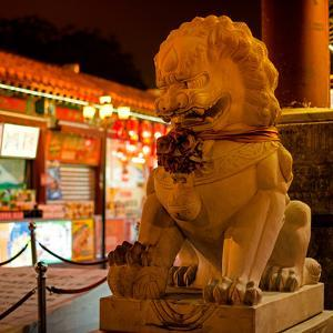 China 10MKm2 Collection - Lion Stands Guard by Philippe Hugonnard