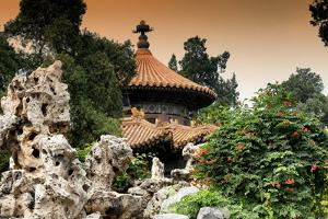 China 10MKm2 Collection - Pavilion Architecture at Sunset by Philippe Hugonnard