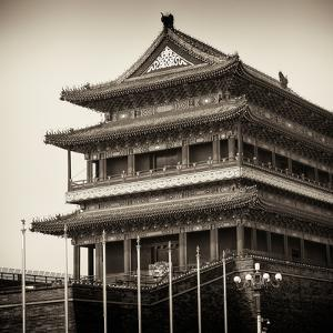 China 10MKm2 Collection - Qianmen Temple by Philippe Hugonnard