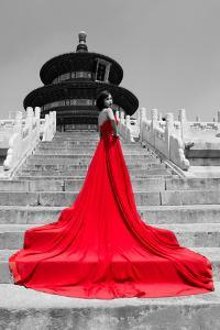 China 10MKm2 Collection - Red Carpet - Temple of Heaven by Philippe Hugonnard