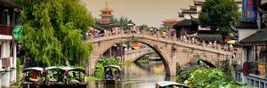China 10MKm2 Collection - Shanghai Water Town - Qibao by Philippe Hugonnard