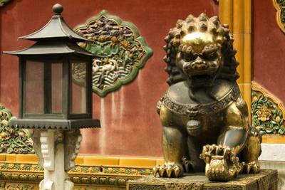 China 10MKm2 Collection - Statue of Imperial Palace of Forbidden City