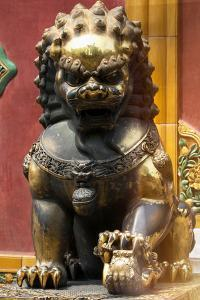 China 10MKm2 Collection - Statue of Imperial Palace of Forbidden City by Philippe Hugonnard