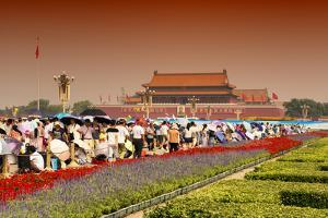 China 10MKm2 Collection - Tiananmen Square by Philippe Hugonnard