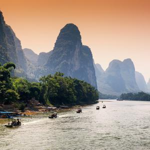 China 10MKm2 Collection - Yangshuo Li River by Philippe Hugonnard