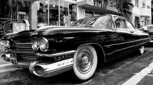 Classic Cars on South Beach - Miami - Florida by Philippe Hugonnard