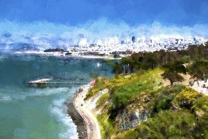 Coast of San Francisco by Philippe Hugonnard