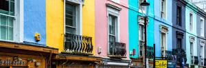 Colorful Houses - Portobello Road - Notting Hill - London - UK - England - United Kingdom by Philippe Hugonnard