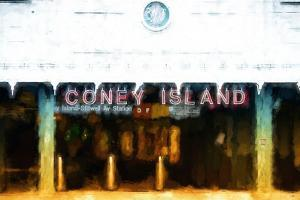 Coney Island Station by Philippe Hugonnard