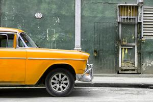 Cuba Fuerte Collection - 615 Street and Orange Car by Philippe Hugonnard